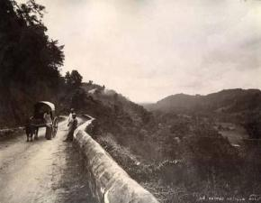 Frederick Medis and Srilal Perera: Further along the old Kandyroad