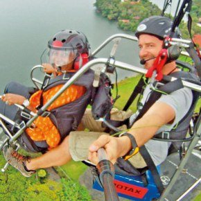 Mark Silverberg: A Para-motoring expedition