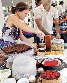 Elinor and Yohan Galapitage: The English CakeCompany