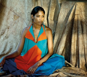 "Marisa Gnanaraj: ""Fashion foundme."""