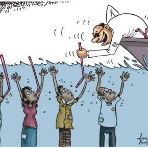 Awantha Artigala: Sri Lanka's Quiet Cartoonist