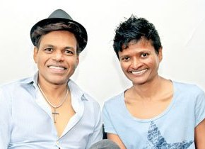 Jayanthi Kuru-Utumpala and Johann Peiris: On top of the world