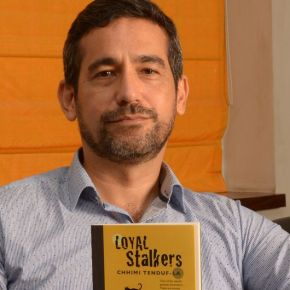 'I am drawn to terrifying things', says the novelist who feels squeamish seeing his name on hisbook