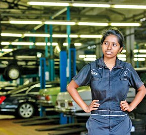 Women shake up the automobile sector