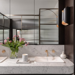 Old World Glamour Meets Contemporary Luxury – Centennial Park Residence by Isabelle HarrisDesign