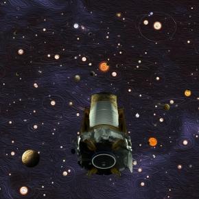 How stars live and die: Kepler captures rare supernovablast